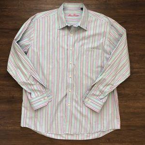 EUC Alan Flusser Men's Long Sleeve Button Up
